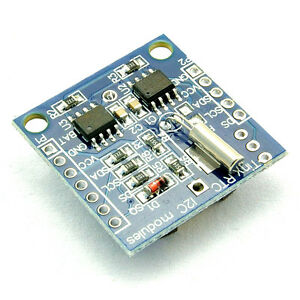 2pcs I2c Rtc Ds1307 At24c32 Real Time Clock Module For Avr Arm Pic