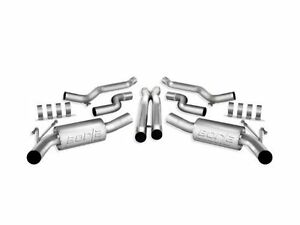 Borla Atak Catback Exhaust W X Pipe For 2010 11 Chevy Camaro Ss w Ground Effect