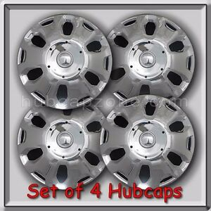 Set Of 4 15 2010 2013 Ford Transit Connect Hubcaps 15 Chrome Wheel Covers