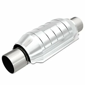 Magnaflow 53009 Universal High flow Catalytic Converter Round 3 In out