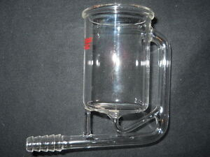 Eg g Parc Princeton Research Glass Distillation Reservoir Vessel 10mm Od Hose