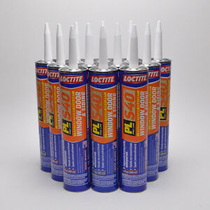 Polyurethane Window Door Siding Sealant Loctite Pl S40 10 Oz 12 Pk