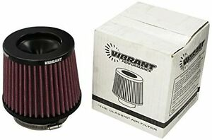 Vibrant Classic Air Filter 5 25 Od Cone X 5 Tall X 3 5 Inlet Id