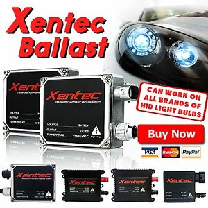 2x Xentec High low Beam Fog Light Xenon Hid Conversion Kit s Ballast Replacement