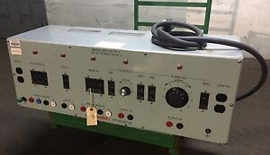 Hampden Engineering Ac dc Power Supply Model Bps 100 pp 3 120 208v 3 Phase