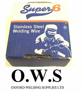 308 Lsi Stainless Steel Mig Welding Wire 0 8mm X 0 7kg Super 6