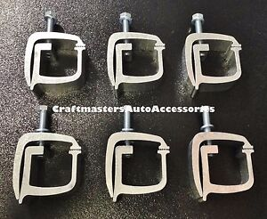 6 Truck Cap Topper Camper Shell Mounting Clamp Api Kh1