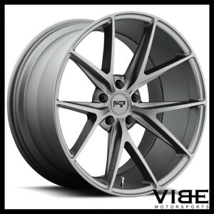 20 Niche Misano Gunmetal Concave Wheels Rims Fits Ford Mustang Shelby Gt Gt500