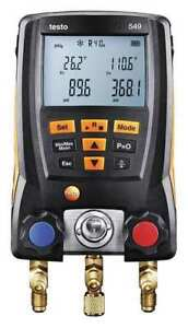 Testo 0560 0550 Digital Manifold Gauge 2 Valves