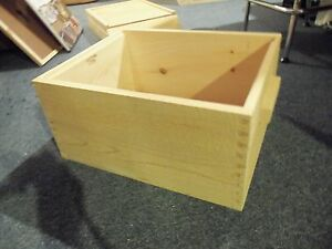 Deep Hive Body Dovetail Joints For 10 Frame Langstroth Beehive handcrafted