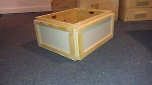 Beehive observation Honey Super 10 Frame For Apiary Use handcrafted My Patent