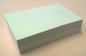 Blank Business Cards White 350gsm Recycled In Lots Of 250 500 1000