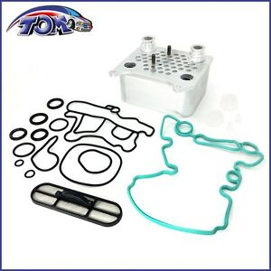 New Engine Oil Cooler Kit Egr 3c3z6a642ca Fit Ford 6 0l Powerstroke Diese