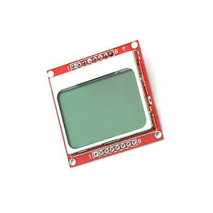 5pcs 84 48 84x84 Lcd Module White Backlight Adapter Pcb For Nokia 5110