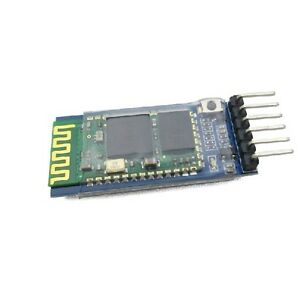 10 Pcs Wireless Serial 6 Pin Bluetooth Rf Transceiver Module Hc 05 Rs232