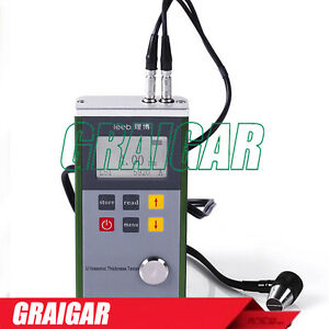 New Metal Case Ultrasonic Thickness Gauge Leeb330