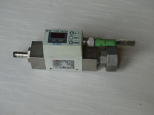 Smc Digital Flow Switch For Water Smc Pf2w720 f04 67n Cable