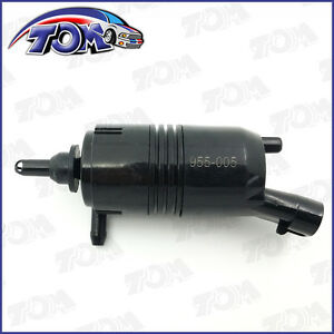 Brand New Front Windshield Washer Pump For Buick Chevy Gmc Pontiac