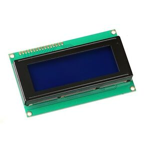 10pcs 2004 204 20x4 Character Lcd Display Module Hd44780 Blue Blacklight