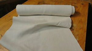 Homespun Linen Hemp Flax Yardage 8 Yards X 19 Plain 6881