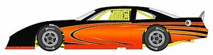 Race Car Wrap Graphics Decals Imca Late Model Dirt 19