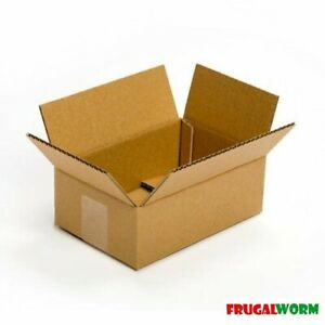 22 X 14 X 6 Flat Corrugated Shipping Boxes 50 bundle Cardboard Box