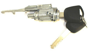 New For Honda Ignition Switch Lock Cylinder With 2 Transponder Chip Keys Ho01