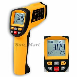50 1 Digital Infrared Thermometer Ir Gun 0 1 1 Em Pyrometer 1350 c 2462 f