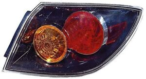 For 2004 2005 2006 Mazda 3 Hatch Back Tail Light Taillamp Passenger Side