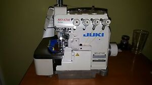 Juki Mo 6700 2 needle 4 thread Overlock Serger Industrial Sewing Machine New