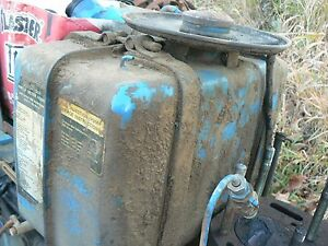 Ford 1600 Diesel Tractor Fuel Tank