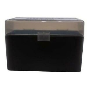 BERRY'S PLASTIC AMMO BOXES (5) SMOKE 50 Round 270  30-06  More