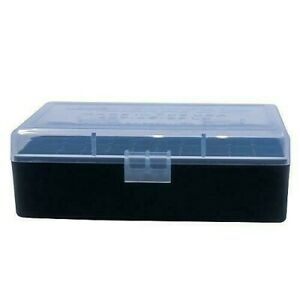 44 SPECIAL 50 Round STORAGE AMMO CONTAINER (#407) FOR NEW OR RELOADED ITEMS