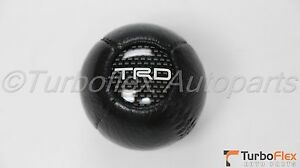Toyota Scion Lexus Trd Leather Shift Knob Ball Type M12x1 25 Metric Genuine Oem