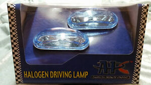 Universal Fog Driving Lights 1 3 4 X 3 3 4 Jeep Gmc Ford Chevy Dodge Cadillac