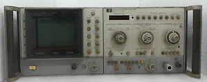 Agilent Hp 8565a Spectrum Analyzer 22ghz As Not Working Condition