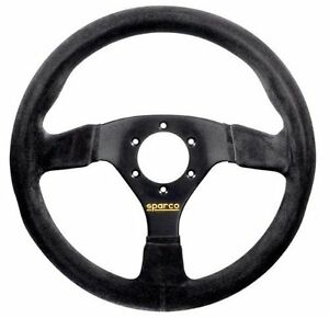 Sparco 015r383psn Suede Steering Wheel