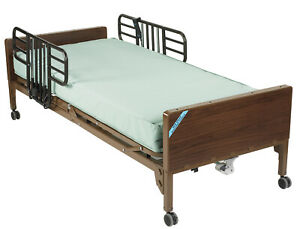 Drive Medical 15033bv pkg 1 Delta Ultra Light Full Electric Bed Mattress brown