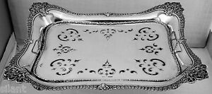 Asparagus Tray By Tiffany Co Sterling Silver Footed