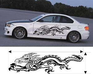 Vinyl Graphics Decal Kits Car Dragon Truck Custom Size Color Variation F1 49