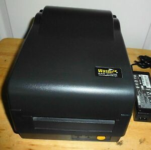 Wasp Technologies Model W300 Bar Code Dt tt Pos Label Printer Parallel serial