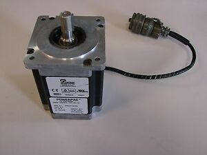 Pacific Scientific Power Pac Servo Motor Model N32hrfm lnk ns 00