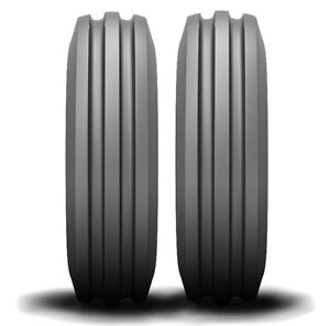 2 New Farmall Cub 4 00 12 Atf Front Tractor Tires Tubes F20850 Free Shipping