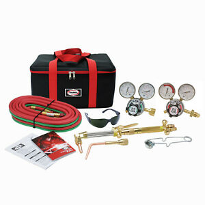 Harris Hhd Heavy Duty Ironworker 510 Oxy Acetylene Cutting Torch Kit 4400367