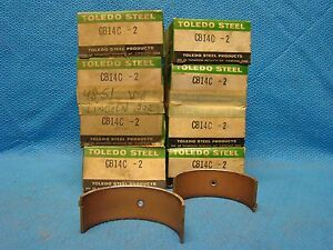 Ford Mercury Lincoln 337 Connecting Rod Bearings 002 Set 1948 1952 Flathead