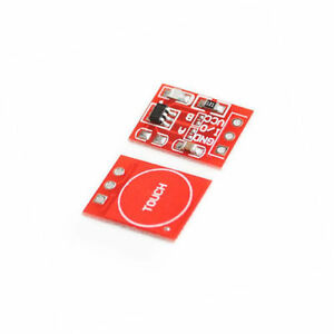 5pcs Ttp223 Capacitive Touch Switch Button Self lock Module For Arduino