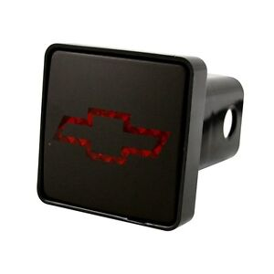 Bully 2 Trailer Towing Tow Hitch Receiver Cover With Brake Light Chevrolet Logo