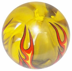 Smoky Yellow Flame Shift Knob M16x1 50 Fits Camaro Trans Am Firebird