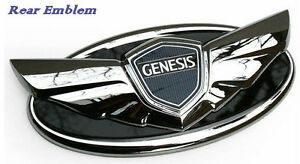 Rear Trunk Genuine Emblem For Hyundai Genesis Coupe 2010 2013