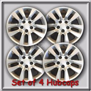 4 16 Silver Nissan Altima Hubcaps Fits 2013 2017 Hub Caps Altima Wheel Covers